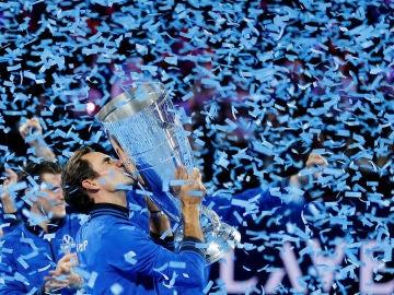 Federer levanta la Laver Cup