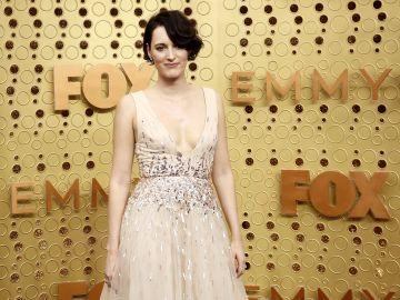 Phoebe Waller-Bridge en su llegada a la gala de los premios Emmy