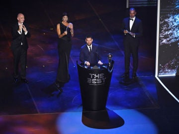 Leo Messi gana el premio 'The Best'