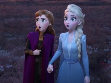 Anna y Elsa en 'Frozen 2'