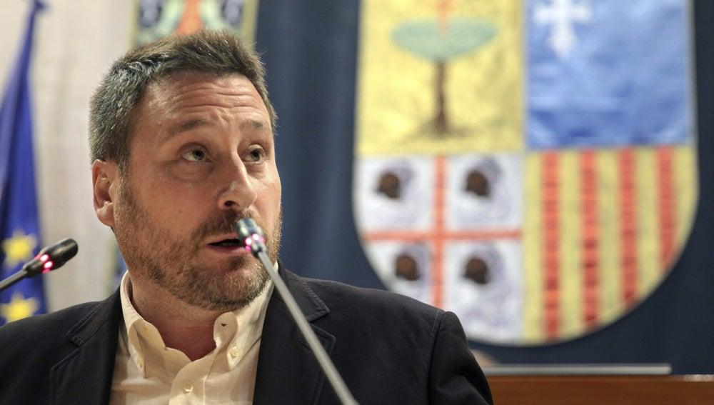 José Luis Soro, líder de Chunta Aragonesista.