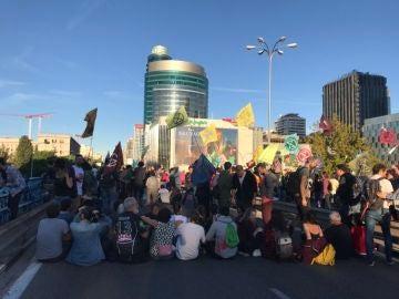 Manifestación de 'Extinction Rebellion' en Madrid