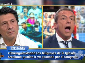 Lo nunca visto: la defensa de Cristóbal Soria a Zidane por el tema Courtois