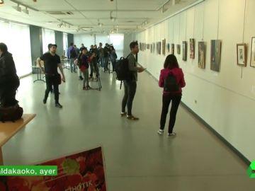 Polémica exposición del etarra Joan Bienzobas que indigna a COVITE y al Gobierno vasco