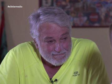 """Un pensionista se derrumba al hablar de su lucha: """"Seguiremos hasta que Sánchez, Iglesias y todos nos hagan vivir mejor"""""""