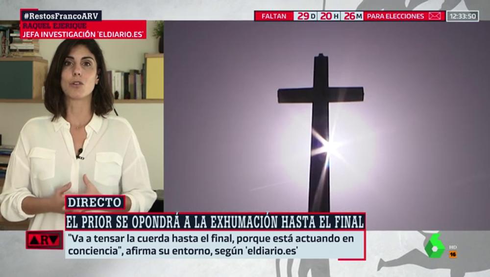Raquel Ejerique, jefa de investigación de 'eldiairo.es'