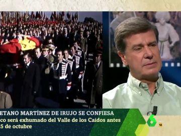 """La opinión de Cayetano Martínez de Irujo sobre la exhumación de Franco: """"No entiendo que abran esa herida otra vez"""""""