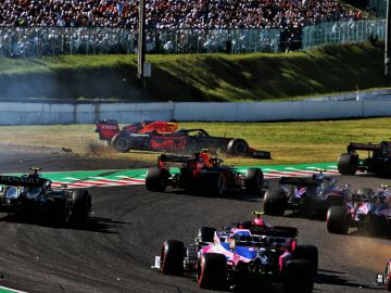 Verstappen, fuera de la pista