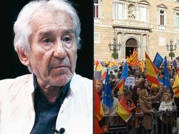 """La sentencia de José Sacristán a los responsables del 'procés': """"Yo no los condenaría por rebelión, sino por chapuzas"""""""