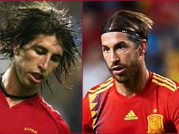 Sergio Ramos, el antes y el ahora