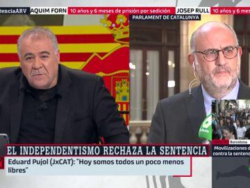 Eduard Pujol en Al Rojo Vivo