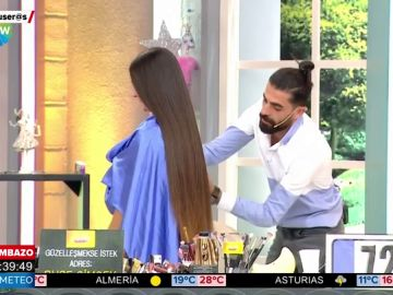 Se desmaya del disgusto en un 'reality' de belleza después de que le cortaran el pelo más de 30 centímetros
