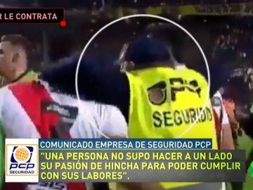 El miembro de seguridad despedido por Boca Juniors se entera en directo de que River Plate le ha contratado