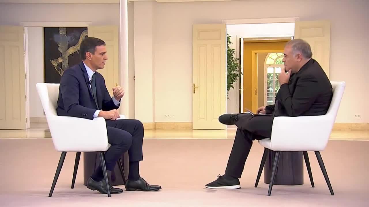 """laSexta Noticias 14:00 (25-10-19) Pedro Sánchez: """"El independentismo desea que la derecha vuelva a gobernar España"""""""