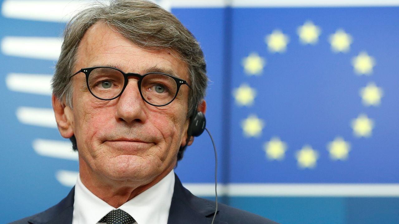 David Sassoli, presidente del Parlamento Europeo