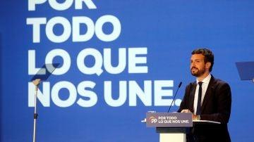 Elecciones generales 2019: El presidente del Partido Popular, Pablo Casado