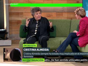 Cristina Almeida en Liarla Pardo
