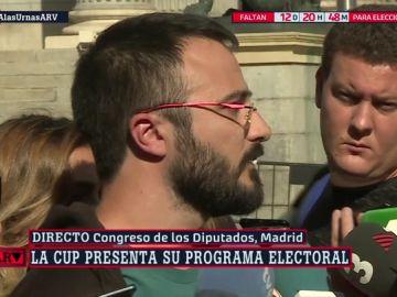La CUP se presenta por primera vez a las elecciones generales