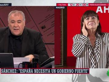 """Cristina Narbona: """"El PSOE no renuncia a la unidad de España, no vamos a ceder""""."""
