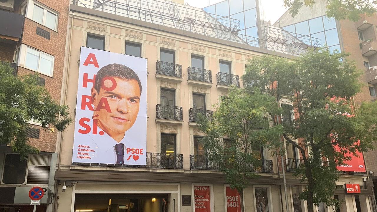 'Ahora Sí', el lema del PSOE para la campaña hacia las elecciones generales