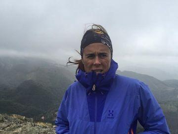 La alpinista Edurne Pasaban