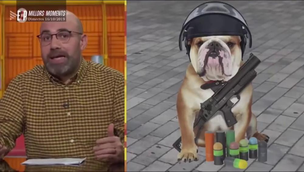 """La Fiscalía investiga un programa de TV3 que se refirió a los Mossos como """"putos perros"""""""