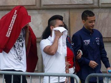 Tres de los acusados por la violación múltiple de una menor en Manresa