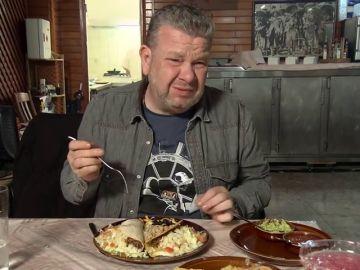 """Chicote se queda con el arroz del Pepe's Cantina igual que si se hubiera comido el mantel: """"Es como comer trocitos de plástico"""""""