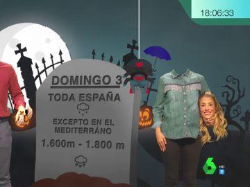 La previsión meteorológica más terrorífica de Isabel Zubiaurre y Alberto Herrera