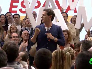 El vídeo que demuestra que Albert Rivera ha 'robado' el 'Sí se puede' de Podemos en la campaña electoral
