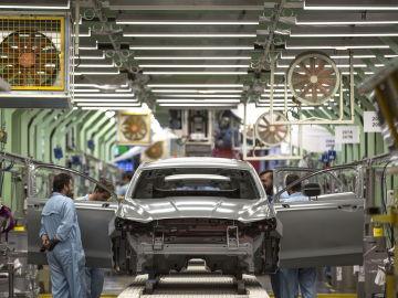 Fábrica de producción de Ford