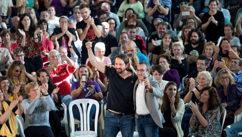 El secretario general de Unidas Podemos Pablo Iglesias