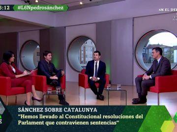 """Sánchez, sobre Cataluña: """"No ha habido enfrentamiento de la policía y los violentos, ha habido un ataque de los violentos a la sociedad catalana"""""""