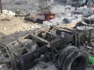 Coche bomba en Siria