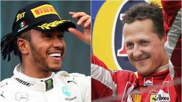 Lewis Hamilton y Michael Schumacher