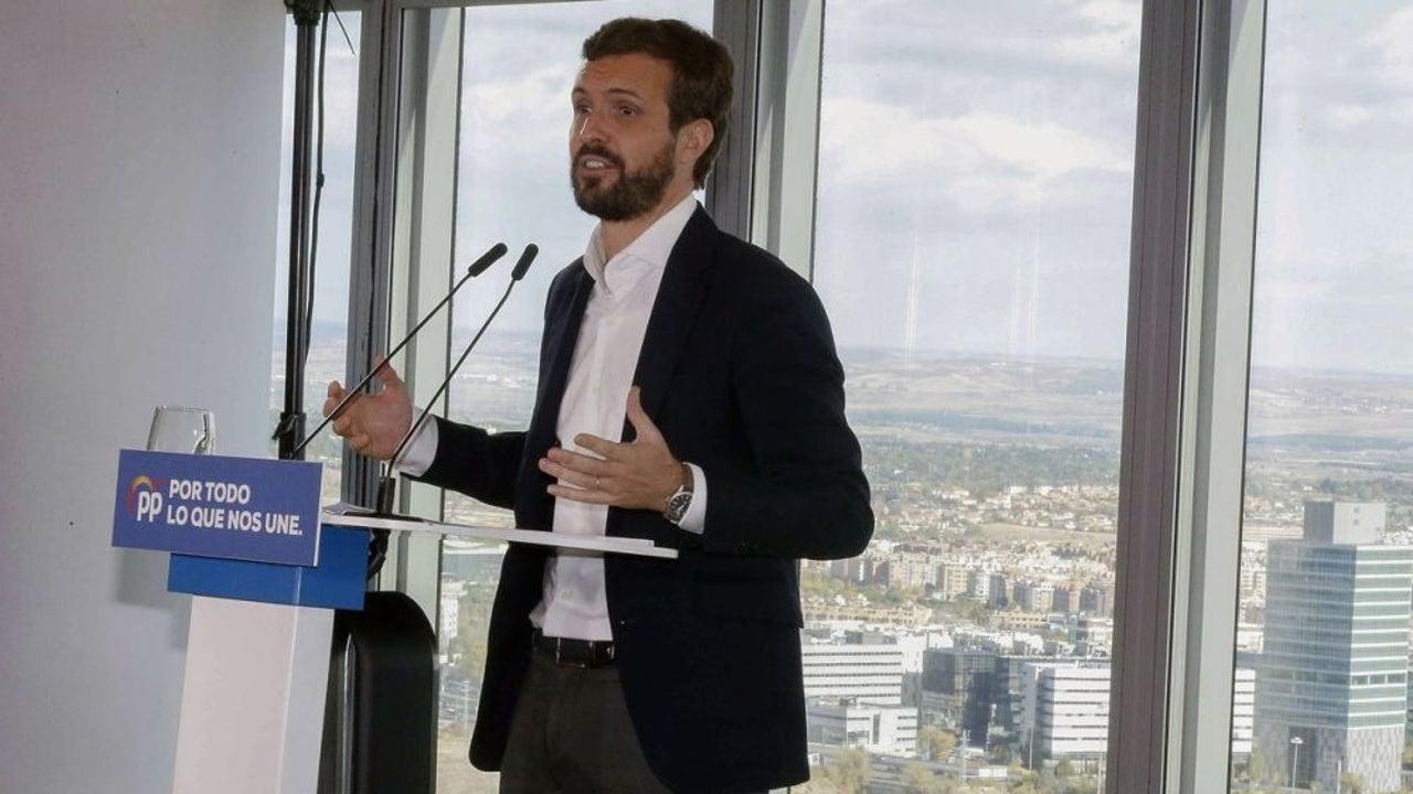"""La Sexta Noticias Fin de Semana (03-11-19) Pablo Casado: """"A Pedro Sánchez le interesaba la violencia en Cataluña y aparecer como el de la porra envuelto en la bandera"""""""