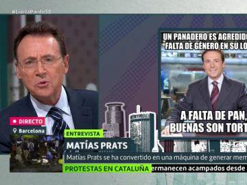 Matías Prats en Liarla Pardo