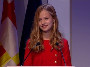 """La princesa Leonor pronuncia su primer discurso en catalán: """"Cataluña siempre ocupará un lugar especial en mi corazón"""""""