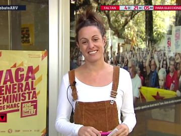 """Mireia Vehí (CUP): """"La única violencia contra las personas ha sido la policial"""""""