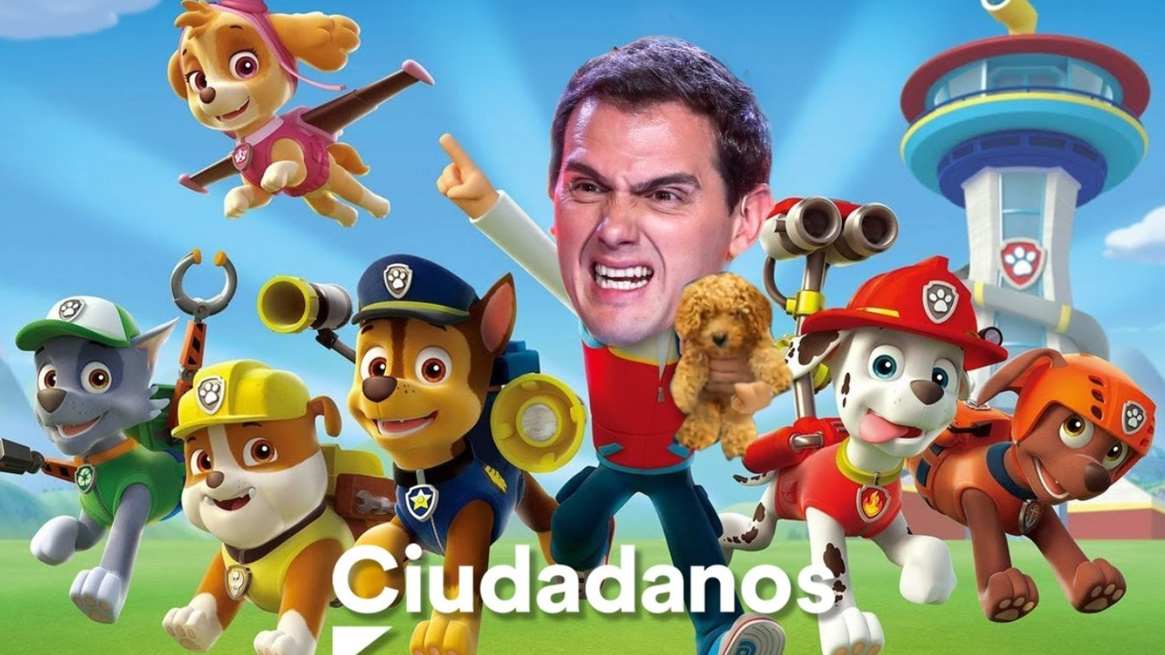 Meme de Albert Rivera