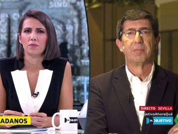 """Juan Marín (Cs): """"Ciudadanos no es determinante con diez escaños, el PP tendría que ofrecerle a Sánchez la abstención"""""""