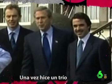 El regreso de Aznar a ritmo de rap en El Intermedio