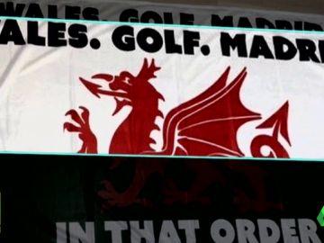 Gales, Golf, Madrid : El cántico sobre Bale que arrasa en su país