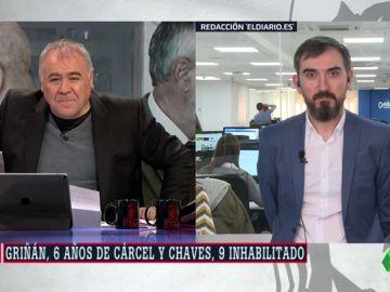 """Ignacio Escolar, sobre el caso de los ERE: """"La responsabilidad de Sánchez en este asunto es entre cero y nula"""""""