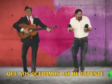 La divertida parodia de los Morancos sobre Sánchez e Iglesias