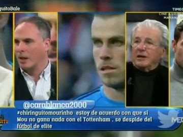 """José Luis Sánchez defiende a Gareth Bale: """"Si lo hace un jugador en España, le sacamos a hombros"""""""