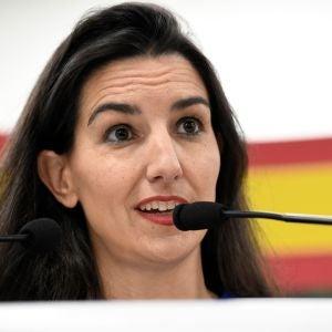 La líder de Vox en Madrid, Rocío Monasterio