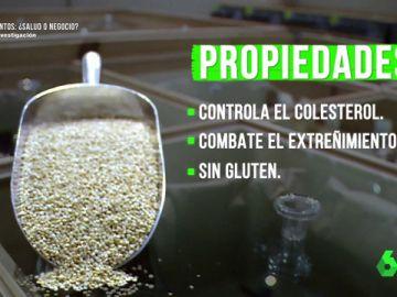 Apta para celíacos, rica en proteínas, vitaminas, fibras... estas son todas las propiedades de la quinoa