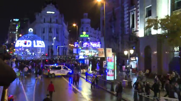 Madrid enciende las luces de Navidad