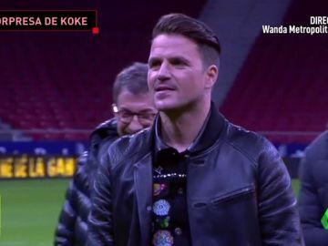 La emocionante sorpresa de Pablo Motos y Koke a Dani Martín en el Metropolitano
